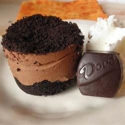 Mini Chocolate French Silk Pie