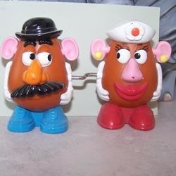 Mr and Mrs potatoe head