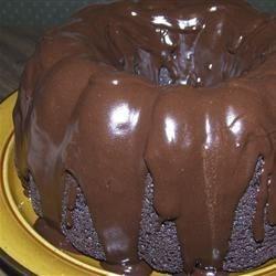 Hard Chocolate Glaze