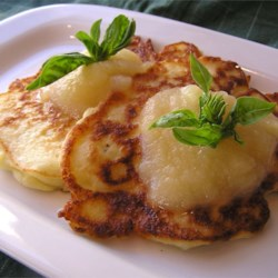 Ellen Szaller's Mashed Potato Pancakes Recipe - Your search for hard-to-find good potato pancakes is now over. These are good old homemade ones that are slightly sweet, and very very moist.