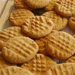 Basic PB Cookies