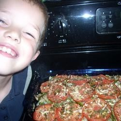 Ethan with Ratatouille