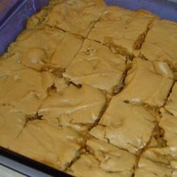 Brown Sugar Brownies Recipe - For Chocolate Brown Sugar Brownies, stir 1 cup semisweet chocolate chips into the batter along with the nuts.  Bake in lightly greased pan 13 x 9 x 2 inches for 30 minutes.