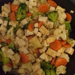 Wicked Garlic Tofu Saute