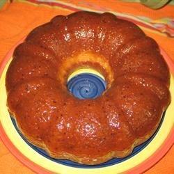 Golden Rum (yum) Cake
