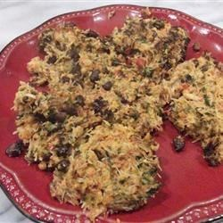 Firecracker Crab Cakes Recipe - Spicy mayonnaise gives these crab cakes with black beans, carrots, red bell pepper, and green onions an added kick. Adjust the heat level to your own personal tastes.
