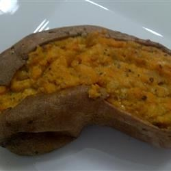 Twice Baked Sweet Potatoes with Ricotta Cheese Photos ...
