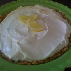 Lemon Pie I Recipe - This pie whips up in a snap with only three ingredients: lemon juice, sweetened condensed milk, and whipped topping. Swirl the three together, pour into a prepared graham cracker crust and chill.