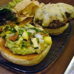 Cilantro Lime Cheeseburger