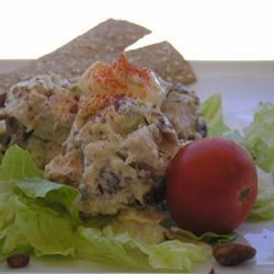 Michigan Chicken Salad Recipe - Dried cherries give a slightly tart and sweet flavor to this chicken salad.