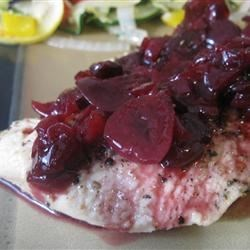 Flathead Cherry Compote Recipe - This simple compote is a great accompaniment to roasted lamb or beef.