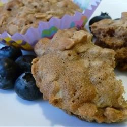 Spicy Oatmeal Muffins