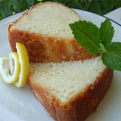 Five Flavor Pound Cake I Recipe - Five flavors blending to create a superlative pound cake.