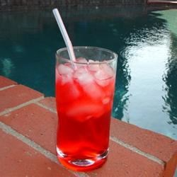 Grenadine Half-Mast Recipe - This modification of the standard half-mast recipe uses grenadine instead of cranberry juice and a tad more tequila.