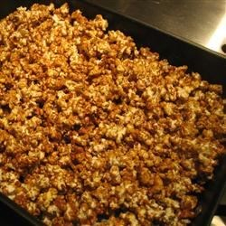 Caramel Corn IV Recipe - This recipe is super simple to make, yet will make all the nibblers think that you spent long hours slaving over it.