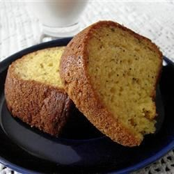 Lemon Bundt Cake Recipe - Lemon instant pudding and lemon-lime soda make this a very moist and delicious lemon cake.