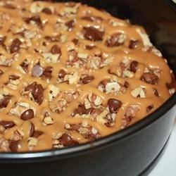 Turtles(R) Brownies Recipe - These brownies have pecans and caramel, much like TURTLES(R) candies.
