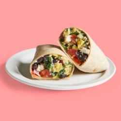 Make-Ahead Spinach & Black Bean Burritos