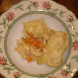 Quick and Super Easy Chicken and Dumplings