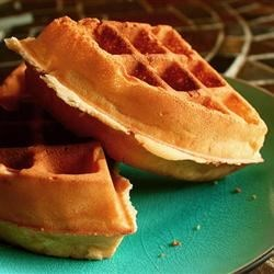 Waffles I Recipe - Made-from-scratch waffles are ready in less than 30 minutes with this basic waffle recipe.