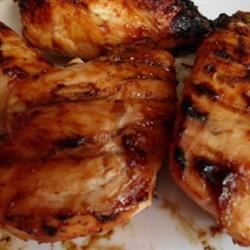 BBQ Chicken Recipe - Throw the chicken on the barbecue and baste with an emulsion of oil,  seasonings and vinegar for a zesty summer entree.