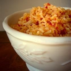 Best Spanish Rice Recipe and Video - Spanish rice is the perfect accompaniment to Mexican foods, chicken, or just about anything. This simple recipe uses chicken broth and chunky salsa to transform plain white rice into a marvelous side dish.
