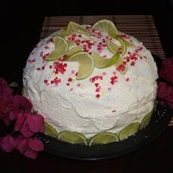 JACY'S PERFECT COCONUT LIME CAKE