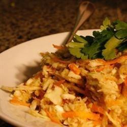 Creamy, Healthy Coleslaw Recipe