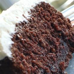 Chocolate Oatmeal Cake Recipe - The butter and cocoa give this wholesome cake a fudgey quality, while the oatmeal adds fiber and density.