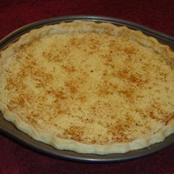 Buttermilk Pie I Recipe - Buttermilk is clearly magical with this simple recipe that yields great results. It makes this lovely custard pie ambrosial. Top it with whipped cream and shaved chocolate.