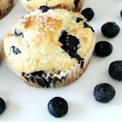 Blueberry Nut Muffins