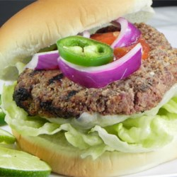 Tequila Lime Burgers Recipe - Tequila and lime give these burgers a unique twist that the whole family will love.