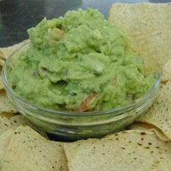 Grilled Guacamole Recipe - A chunky, creamy guacamole with just the right amount of zip!  Grilled avocados add a smoky, caramelized taste.