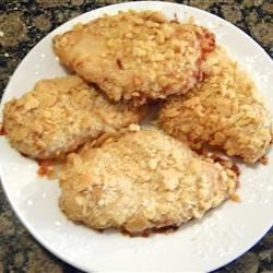 Easiest Oven Baked Chicken Recipe -  Melted butter and saltine crackers form the crust for truly one of the easiest chicken dishes you will ever bake.  And it works well as leftovers, too.