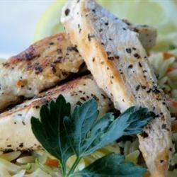 Simple Lemon Herb Chicken Recipe - Chicken seared in lemon and herbs proves that good taste does not always depend on a lot of ingredients.