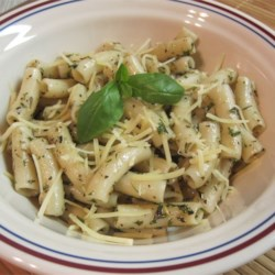 Fettuccine with Garlic Herb Butter Recipe - This is wonderful! Try as much or as little of the fresh herbs to suit your tastes. Serve with freshly grated Parmesan cheese and some warm bread, if desired.