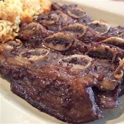 Korean BBQ Short Ribs (Gal-Bi) Recipe - This is a easy way to make Korean BBQ. You can also substitute chicken breast or sliced rib-eye for the short ribs. If you use chicken or rib-eye, you must add thinly sliced green onion tops.