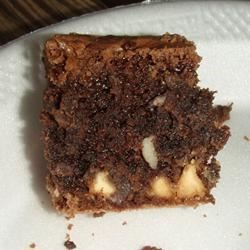 Boyfriend Brownies Recipe - These chocolaty, dense brownies are great served warm with ice cream!