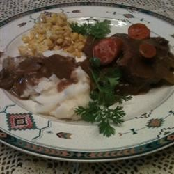 Roast Beef Mashed potatoes & fresh corn