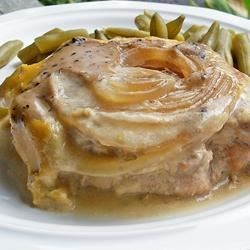 Pork Chops to Live For Recipe - My mom used to make this all the time and it has always been one of my favorites. The best part is you can mix it up in a few minutes in the morning and forget about it for the rest of the day.
