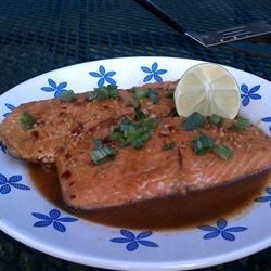 Chile Garlic BBQ Salmon (7/13/11)