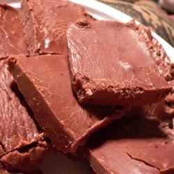 Gaye's Microwave Fudge Recipe - Confectioners' sugar, cocoa, milk and butter are zapped in the microwave, beaten, then thrown in the freezer for quick satisfaction.