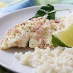 Summertime Tilapia Recipe - This marinade can be used on any sort of white fish that needs an extra punch. It has a variety of flavors that blend very well for a wonderful fish dish. Serve with fresh veggies and a rice dish.