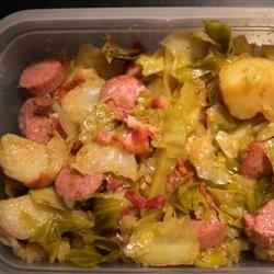 Kielbasa and Cabbage