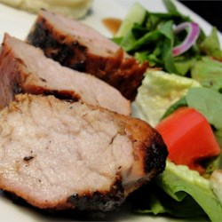 Marinated Pork Tenderloin Recipe and Video - For this easy-to-follow recipe, pork tenderloin marinates in sherry, cinnamon, brown sugar and soy sauce, for sweet, moist and tender results.