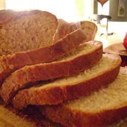 Honey Wheat Bread I Recipe - This tender honey wheat loaf features evaporated milk for extra rich taste and texture.