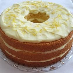Lemon Chiffon Cake Recipe - This cake recipe makes lemony, light, and luscious lemon-flavored chiffon cake with a creamy filling made with lemon pie filling.