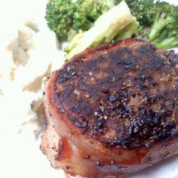 Mock Filets Recipe - This recipe cooks up a nice mock steak and the bacon wrapping gives these 'steaks' a wonderful flavor.
