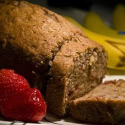 Strawnana Bread Recipe - Quick and easy to make, oh so fruity, and very yummy!!