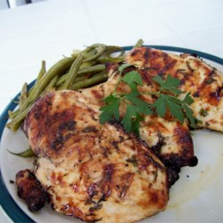 Spicy Scarborough Chicken Marinade Recipe - Inspired by the old song popularized by Simon and Garfunkel, this recipe combines parsley, sage, rosemary, and thyme with the kick of habanero pepper into the perfect chicken marinade.